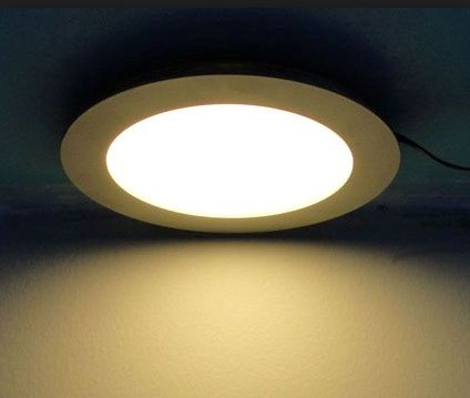 Led Panel Dia300 24w Warm White Round Dali Dimmable With Emergency