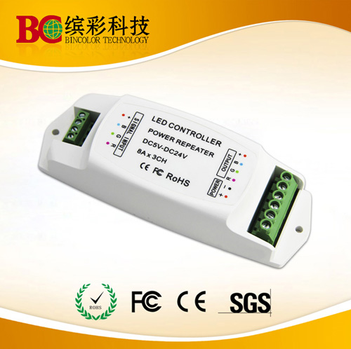 Led Power Repeater With 3 Channels