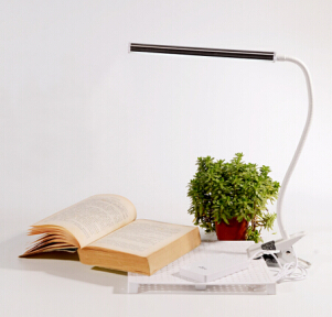 Led Reading Lamp With Clips For Gooseneck Desk
