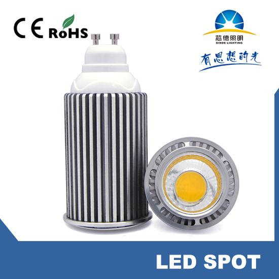 Led Spot Light Cob Gu10 Cup Xb 9w