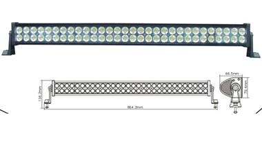 Led Worklight 180w Aluminium 60pcs 3w Light Bar For Jeep Ch 008d