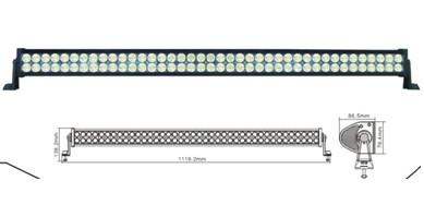 Led Worklight 240w Aluminium 680pcs 3w Light Bar For Jeep Ch 008e