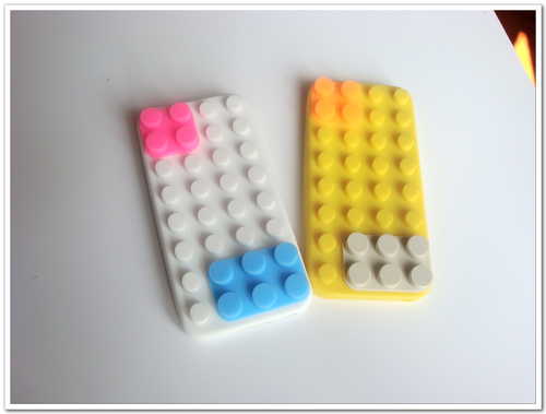 Lego Pattern Silicone Case For Mobile Phone Cases