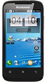 Lenovo A369 Dual Core 1 3ghz Android 2 3 Os 3g Wcdma Smart Phone 4 0 Inch