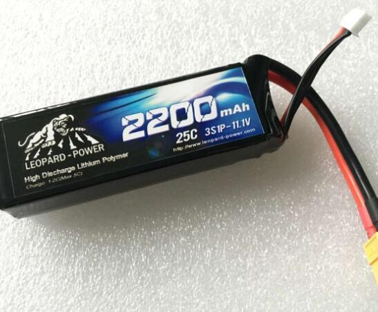 Leopard Power Rc Battery For Fpv Models 2200mah 25c 3s