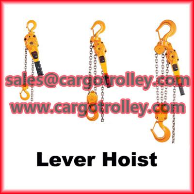 Lever Chain Blocks Price List