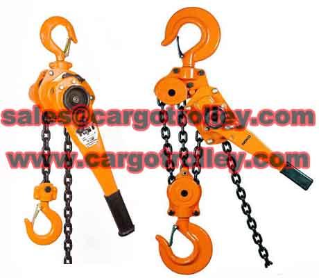 Lever Chain Hoist Price List