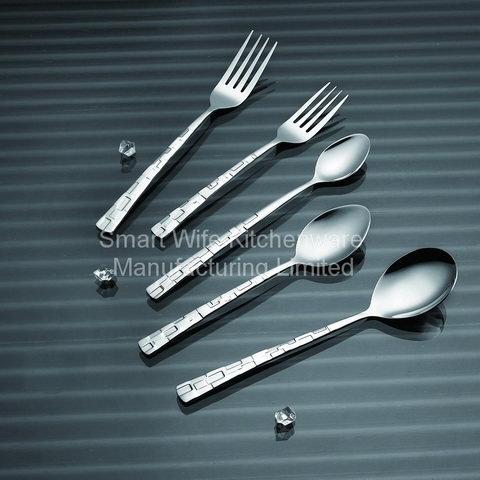 Lfgb Certificated Stainless Steel Dinnerware Set
