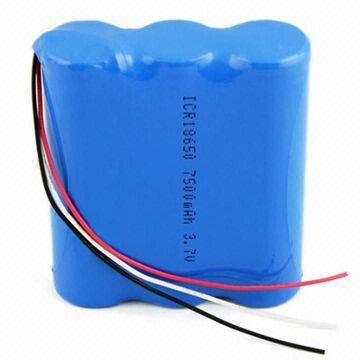 Li Ion Battery Pack 18650 3 7v 2400mah