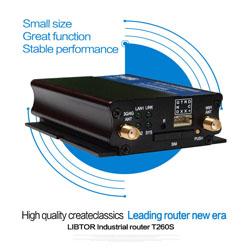 Libtor T260s De2 Industrial 4g Router With 1 Sim Card Slot Vpn Firewall Gatewayfor M2m Solution
