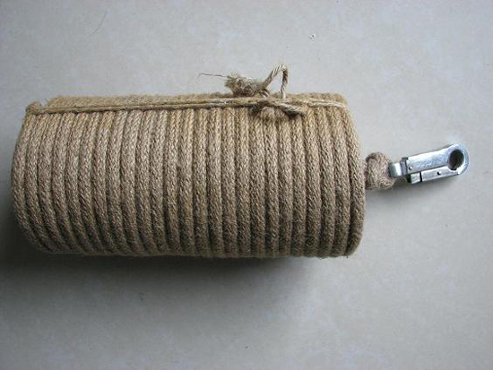 Lifesaving Fire Retardant Rope