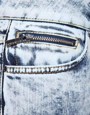 Light Blue Vintage Denim Jeans