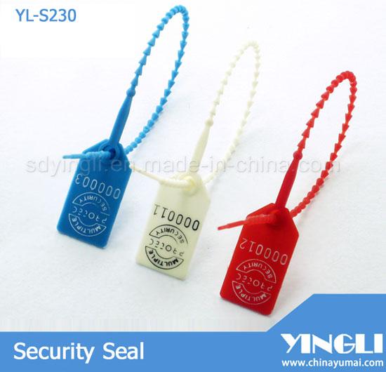 Light Duty Plastic Seal Yl S230