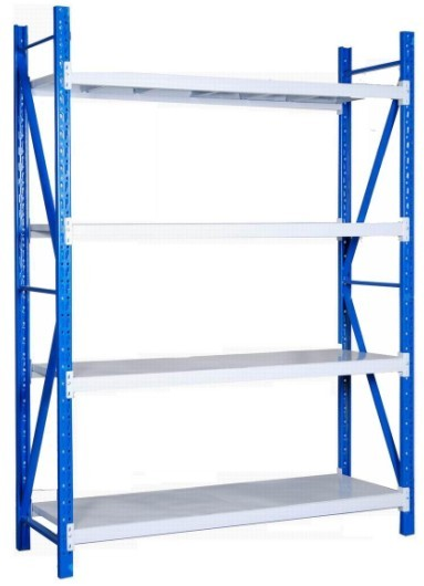 Light Middle Sub Heavy Duty Warehouse Rack With Lalyer Panel