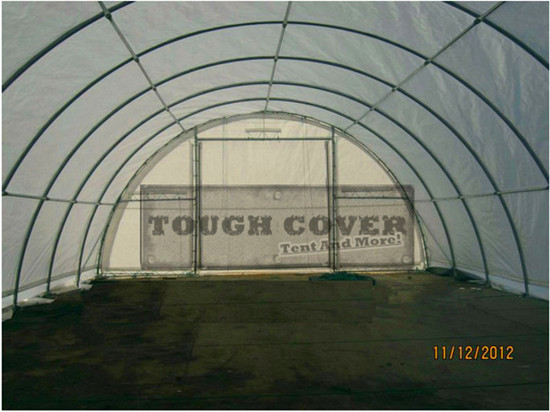 Light Model Storage Tent Fabric Structure Tc304015 Tc306515 Tc308515