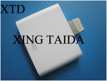 Lightning To 30 Pin Adapter Retail Packing White Audio Output Support