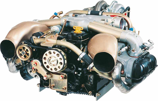 Limbach L 2400 Dt Et 96 Kw Four Cylinder Stroke Boxer Engine With Liquid Cooled Heads Electronic Fue