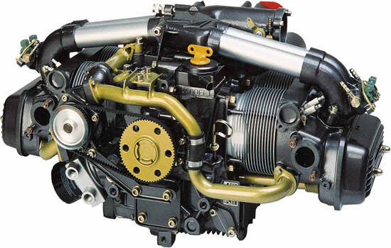 Limbach L2400dfi 74 Kw Four Cylinder Stroke Boxer Engine With Liquid Cooled Heads Electronic Fuel In