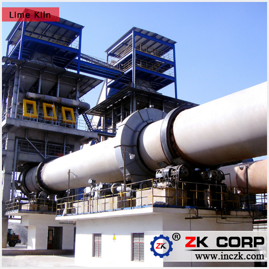 Lime Cement Calcining Rotary Kiln