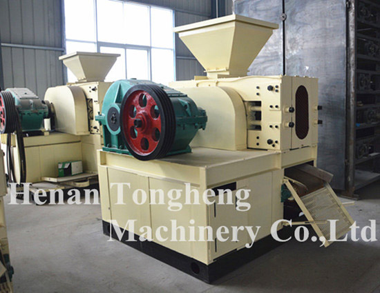 Lime Powder Briquette Machine Making