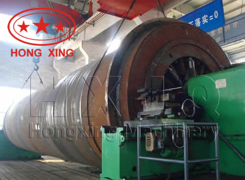 Lime Rotary Kiln With High Technology Content