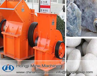 Limestone Crushing With Heavy Hammer Crusher From Hongji Manufacturer