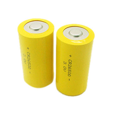 Limno2 Cylindrical Battery Cr26500 C Size 3 0v 5000mah Energy Type For Indstrial Back Up Power