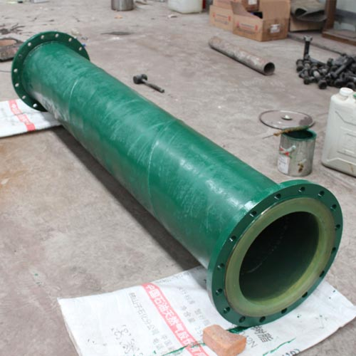 Lined Polyurethane Dual Anti Pipe