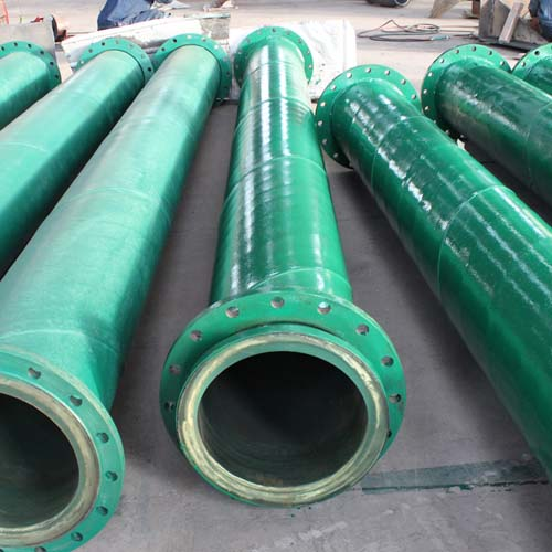 Lined Polyurethane Dual Anti Pipeline Steel Pipe