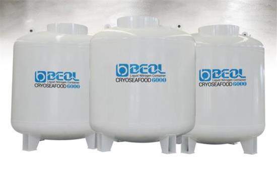 Liquid Nitrogen Tank Cryoseafood Series