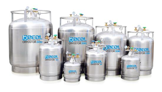 Liquid Nitrogen Tank Cryostor Series