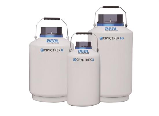 Liquid Nitrogen Tank Cryotrek Series