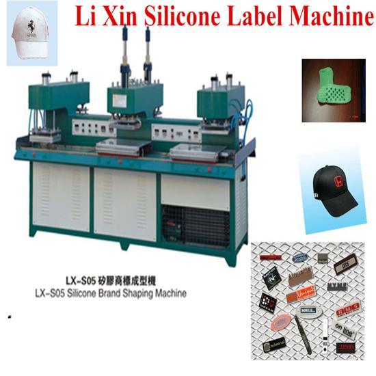 Liquid Silicone Label Making Machine On Garment Lx S05