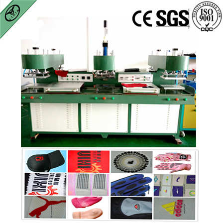 Liquid Silicone Label Making Machine On The Fabric And Make Rubber P
