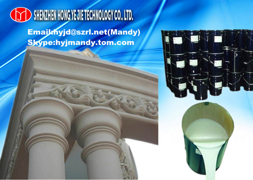 Liquid Silicone Rubber Compound For Gypsum Cornice Molds Plater Statue Grc Products