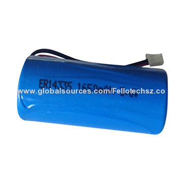 Lisocl2 Battery Energy Type 3 6v 2 3aa 1 650mah Er14335 Primary Lithium High Quality