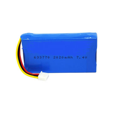 Lithium Polymer Battery 7 4v 2 020mah For Gps Security Products