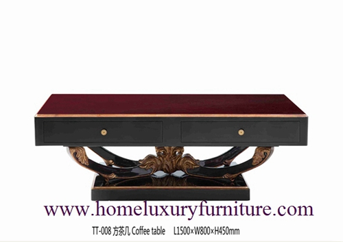 Living Room Furniture Coffee Table China Supplier Neo Classical Furnitrue Tt 008