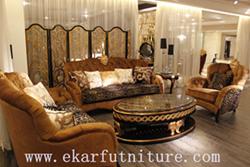 Living Room Furniture Fabric Sofas Sofa Set Ti 006
