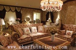 Living Sofa Italian Fabric Sfoa Ff 105