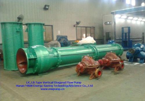 Lk Lb Type Vertical Diagonal Flow Pump
