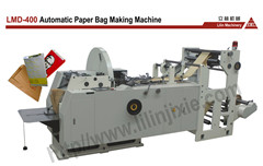 Lmd 400 Automatic Speed Sharp Bottom Paper Bag Making Machine