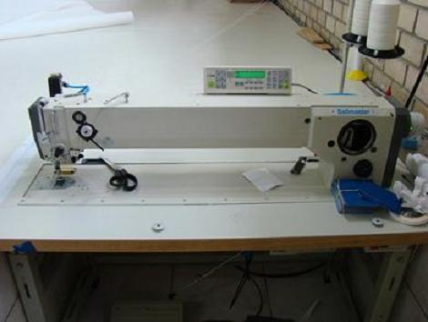 Long Arm Zigzag Industrial Sewing Machine