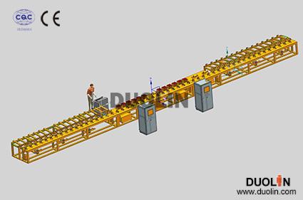 Long Bar Induction Heat Treatment Machine