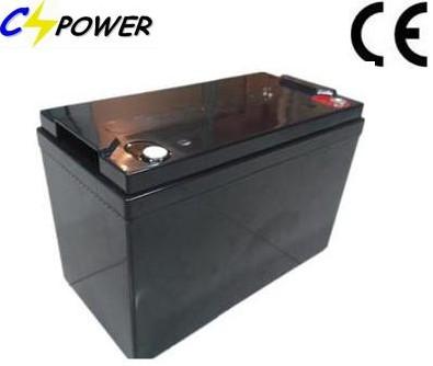 Long Warranty Solar Agm Battery With 12v100ah