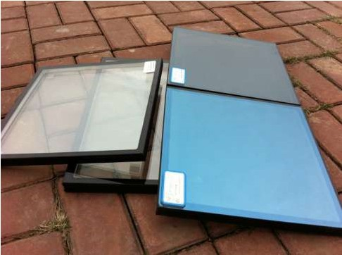Low E Heat Clear Coated Insulated Glass