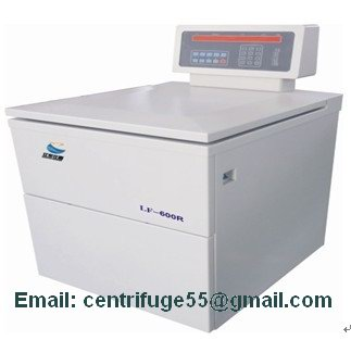 Low Speed Large Capacity Refrigerated Floor Centrifuge Lf 600r