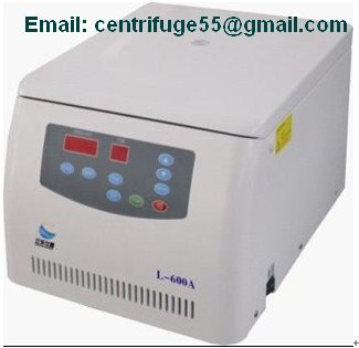 Low Speed Table Top Centrifuge L 600a