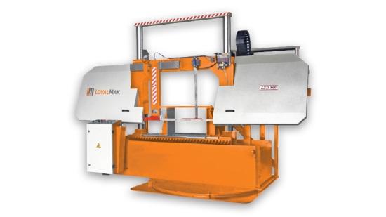 Loyalmak Lyd 800 Semi Automatic Bandsaw Machine With Turn Table