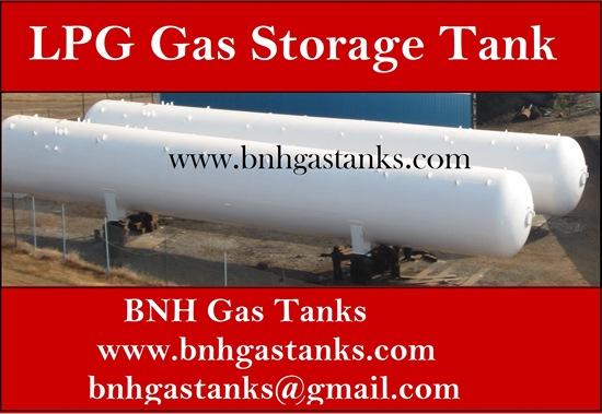 Lpg Gas Storage Tank